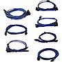 EVGA+1600+G2%2fP2%2fT2+Light+Blue%2fBlack+Power+Supply+Cable+Set+Individually+Sleeved+100G216KLB9