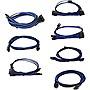 EVGA+1600+G2%2fP2%2fT2+Blue%2fBlack+Power+Supply+Cable+Set+Individually+Sleeved+100G216KUB9