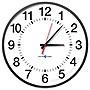 17IN SYNCHRONIZED ANALOG CLOCK 902MHZ-928MHZ