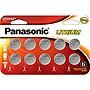 Panasonic+CR2032+3.0+Volt+Long+Lasting+Lithium+Batteries+-+Single+10+Pack
