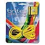 "Brites Corner-To-Corner Rubber Bands 0.63"" x 8.5"" 2180 psi Max Elasticity Yellow 3/Pack 07869BR"