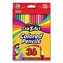 Colored Pencils 36 Assorted Lead/Barrel Colors 36/Box 10438WM36