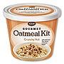 Gourmet Oatmeal Kit Crunchy Nut 2.33 oz Cup 8/Carton 40776