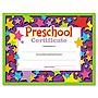 Colorful Classic Certificates Preschool Certificate 8 1/2 x 11 30 per Pack T17006