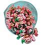 Goetze's Caramel Creams Lt and Dark Caramel Candy One 24 oz Bowl 00029