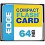 EDGE Tech 64MB Digital Media CompactFlash Card PE179441