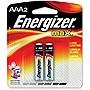 Energizer MAX Alkaline AAA Batteries 2 Pack E92BP2