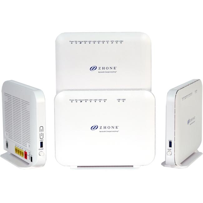 ZHONE 6712-w1 Vdsl2/adsl2+ 4-port Gateway -6 Ports -slots...