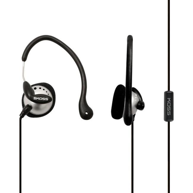 Koss KSC22I Ultra Lightweight Sport Ear-Clip Headphones, Bla