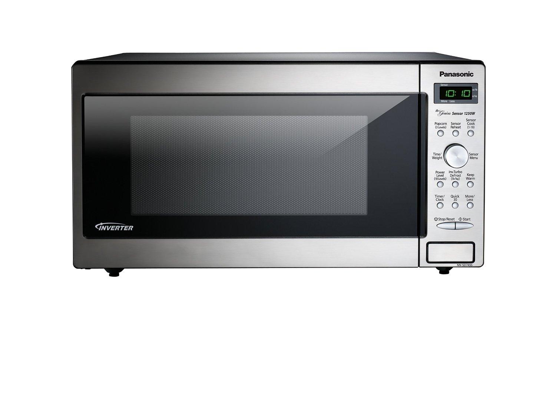 Panasonic Nn Sd745s 1 6 Cu Ft Microwave Oven W Inverter