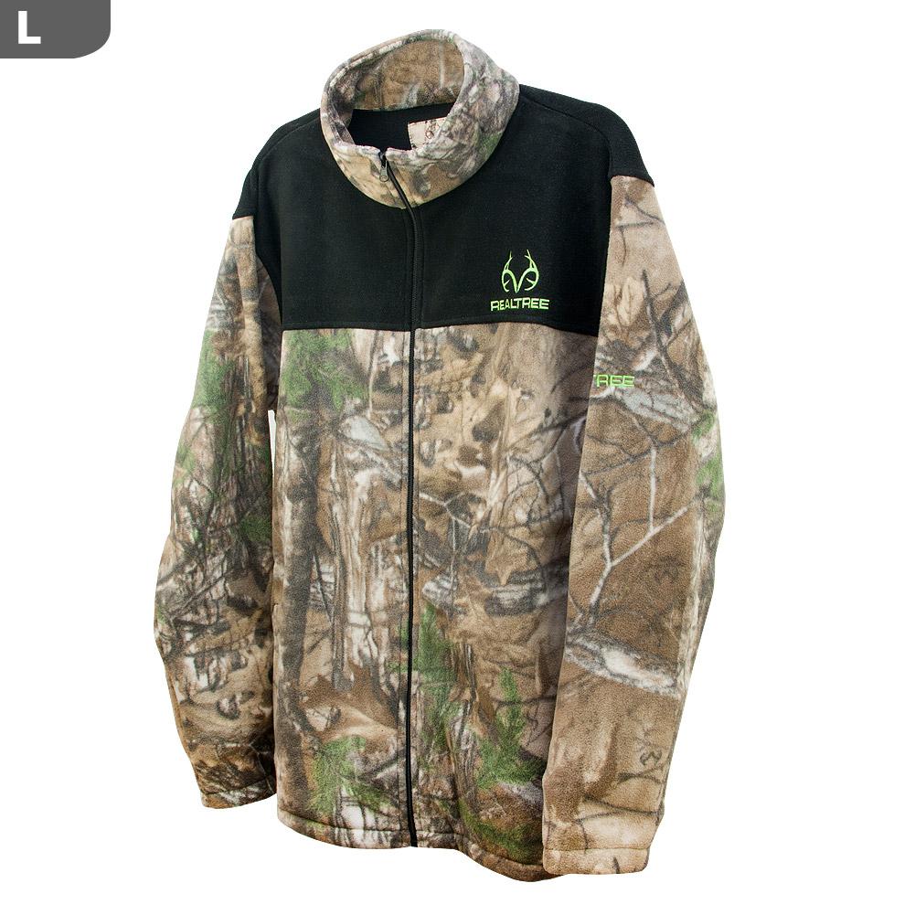 8a3408c5e382b Realtree Men's Aspen RT-XTRA & Black Panels Jacket, Large