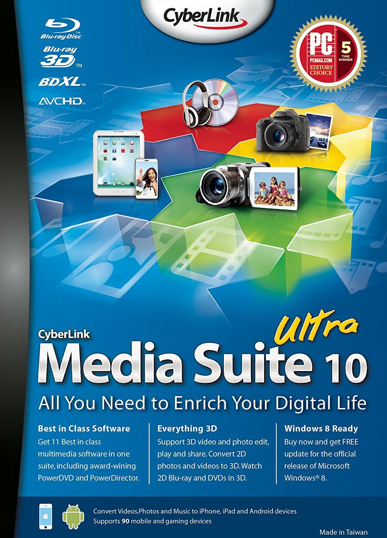 cyberlink media suite essentials for windows 10