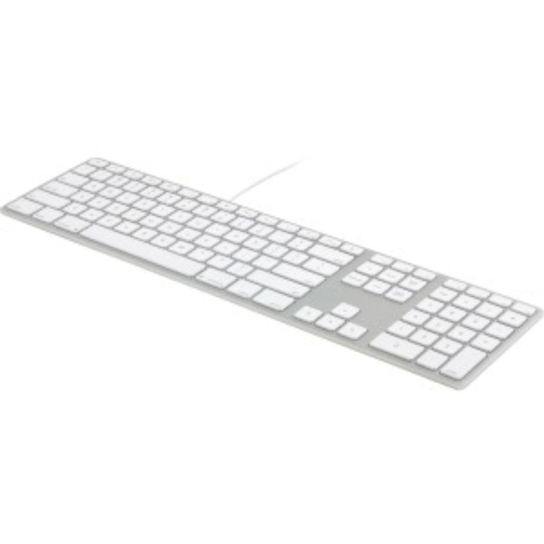 fk318s extended aluminum usb keyboard for mac