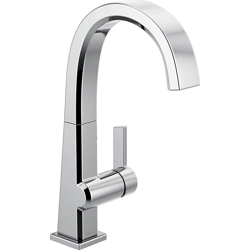 Delta Faucet Pivotal Single Handle Bar Prep Kitchen Sink Faucet Chrome 1993lf 34449864992 Ebay