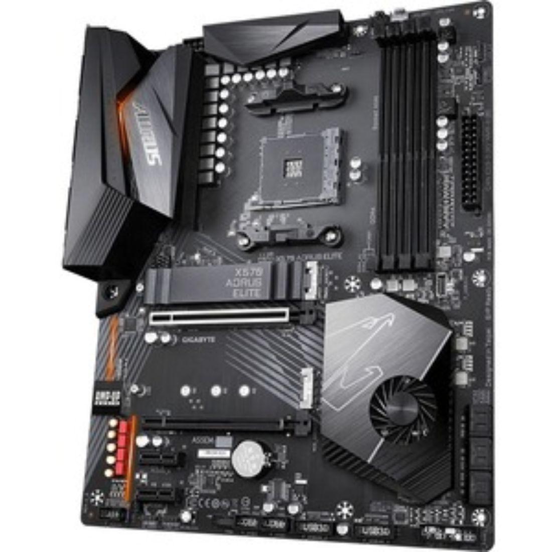 Gigabyte X570 Aorus Elite AM4 Ryzen 3000 DDR4 ATX Desktop Mo