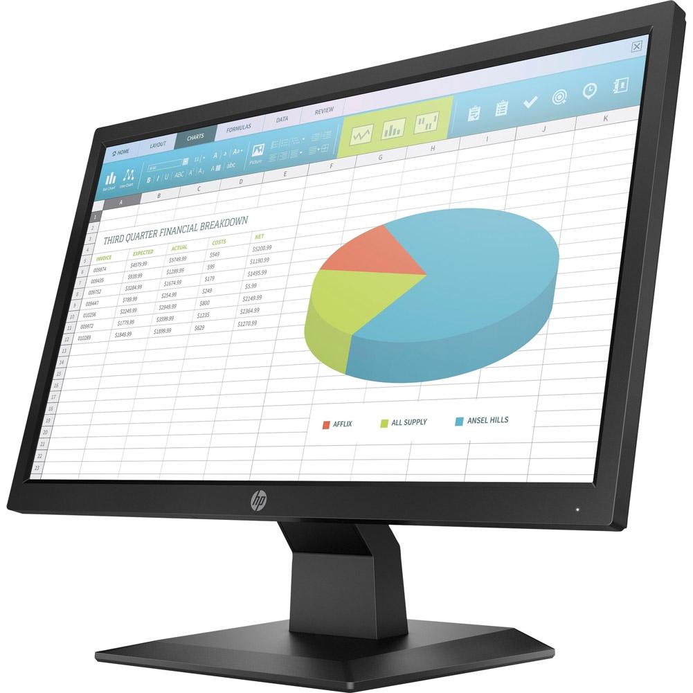 "HP 5RD65A8 P204 19.5"" HD+ 1600x900 5ms 60Hz LCD Monitor"
