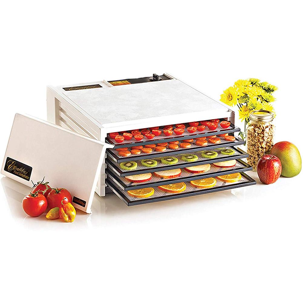 Excalibur 3500W 5 Tray Solid Door Electric Food Dehydrator W