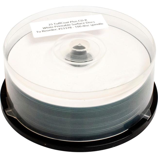 Primera TuffCoat Plus 48x CD-R Media 53378