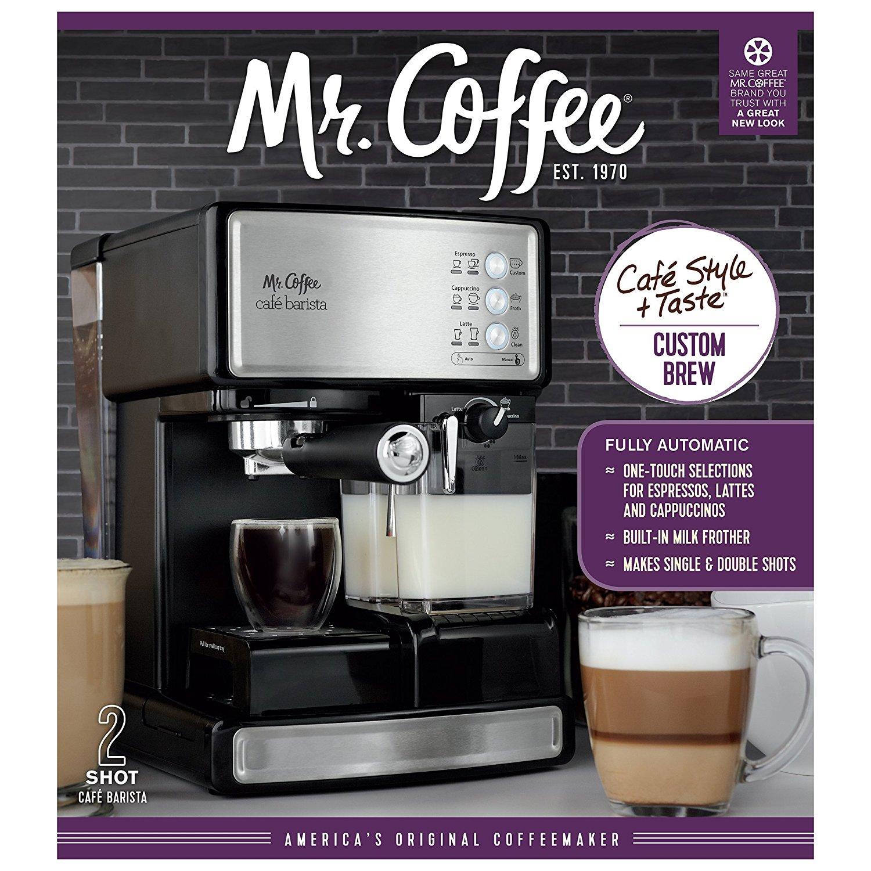 Mr Coffee Cafe Barista Espresso Maker With Automatic