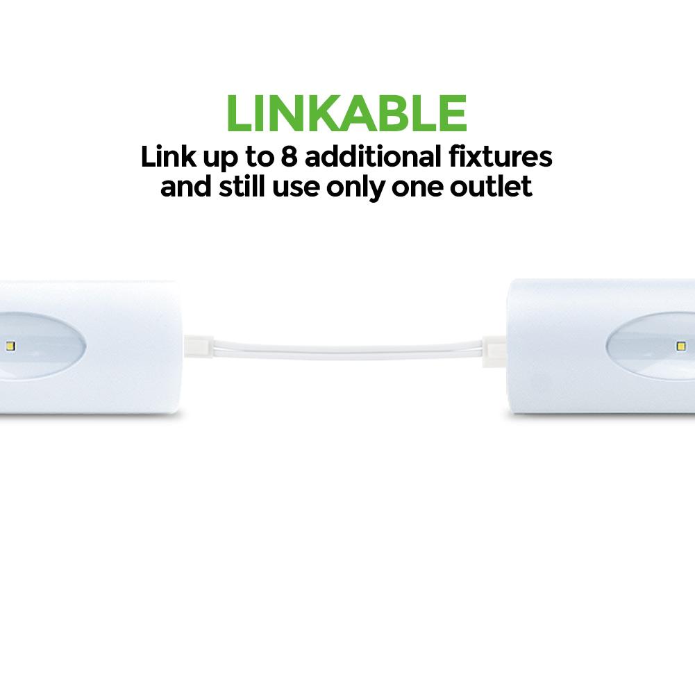"""24 Led Under Cabinet Strip Light: GE 24"""" Under Cabinet Linkable LED Light Fixture"""